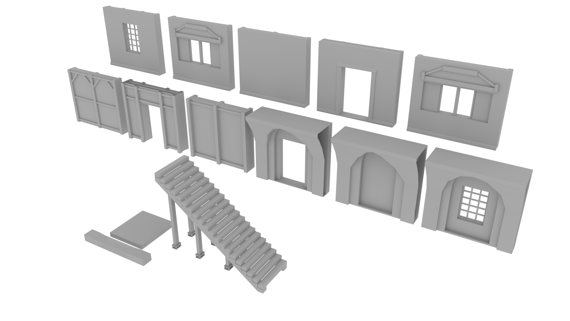 A modular building kit for the Byzantine city.